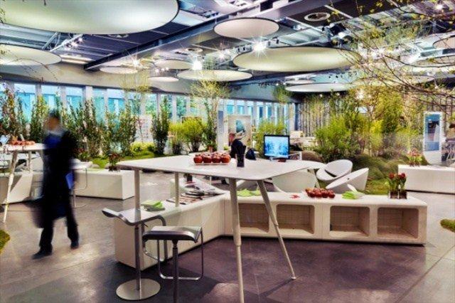 think garden - 6 Desain Kantor Interior Inspiratif Terbaik Yang Paling Banyak Ditiru